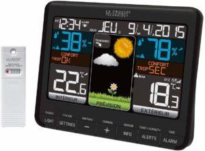 Crosse Technology - WS6825 - Station météo colorée
