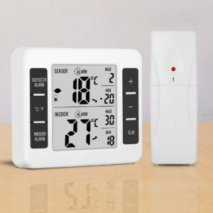 Thermomètre Intérieure:Extérieure glisteny