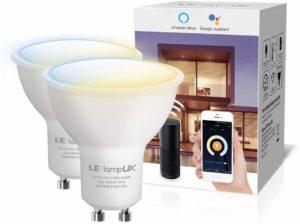 LampUX Ampoule WiFi Connectée GU10