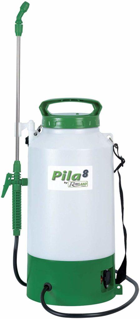 Ribiland 07375 Pulvérisateur à Batterie Blanc 8 L
