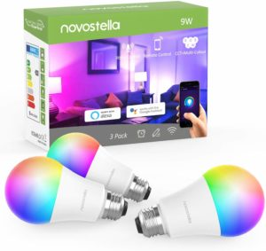 ampoules LED connectées Novostella 810LM E2