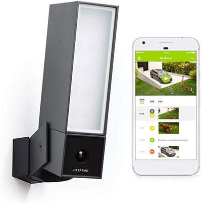 Netatmo Caméra de Surveillance exterieure intelligente-wifi