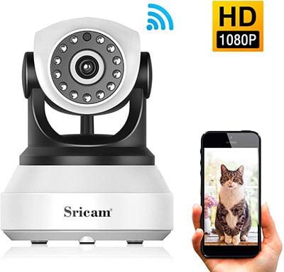 Sricam Caméra Surveillance vision de nuit