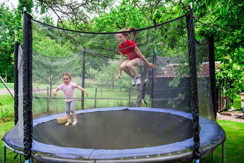 trampoline pour enfants