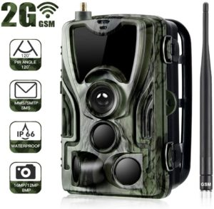 Famyfamy Caméra de chasse 2G GSM 1080P SMS MMS