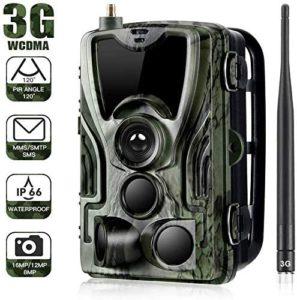 YTLJJ 3G Caméra de Chasse 16MP 1080P SMS MMS
