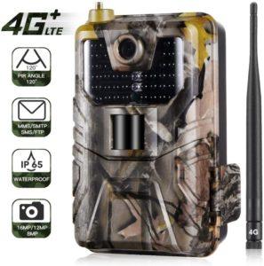 YTLJJ Caméra de Chasse 4G